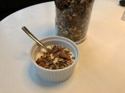 Granola i skål