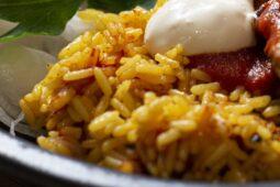 kryddigt curryris
